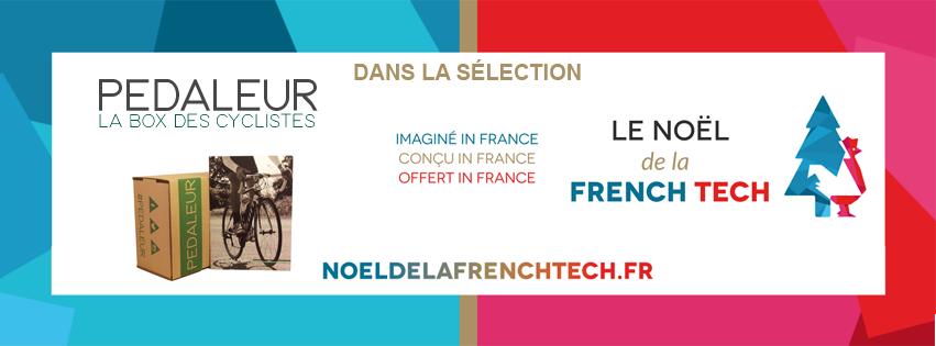Idées cadeau Noel French Tech Pedaleur