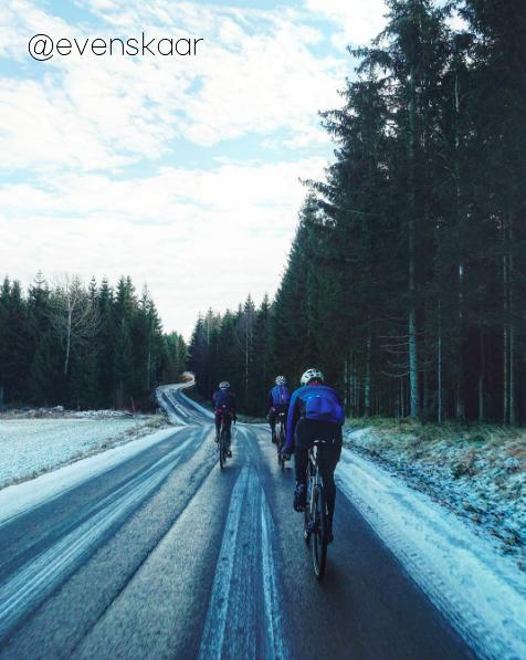 S'entraîner en hiver lorsqu'il neige