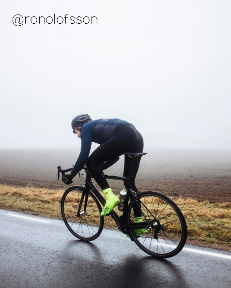 Cycliste scandinave