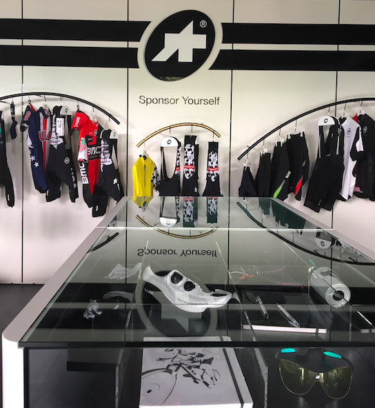 Visite showroom Assos Cycling