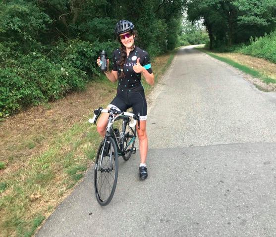 cycliste féminine