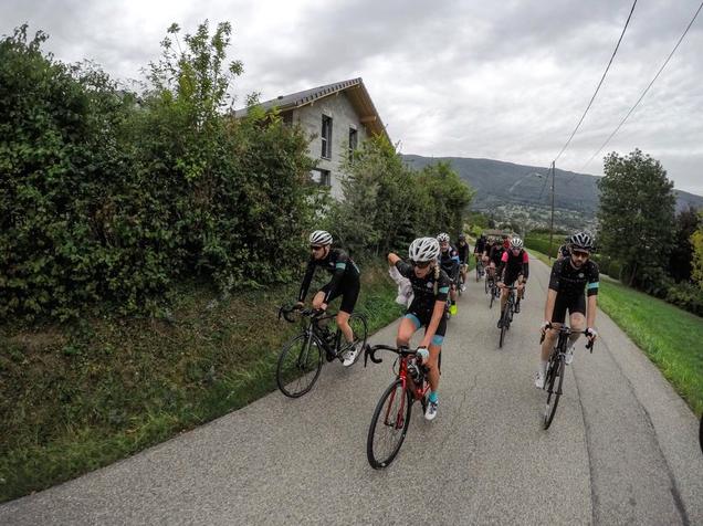 epreuve cycliste Annecy