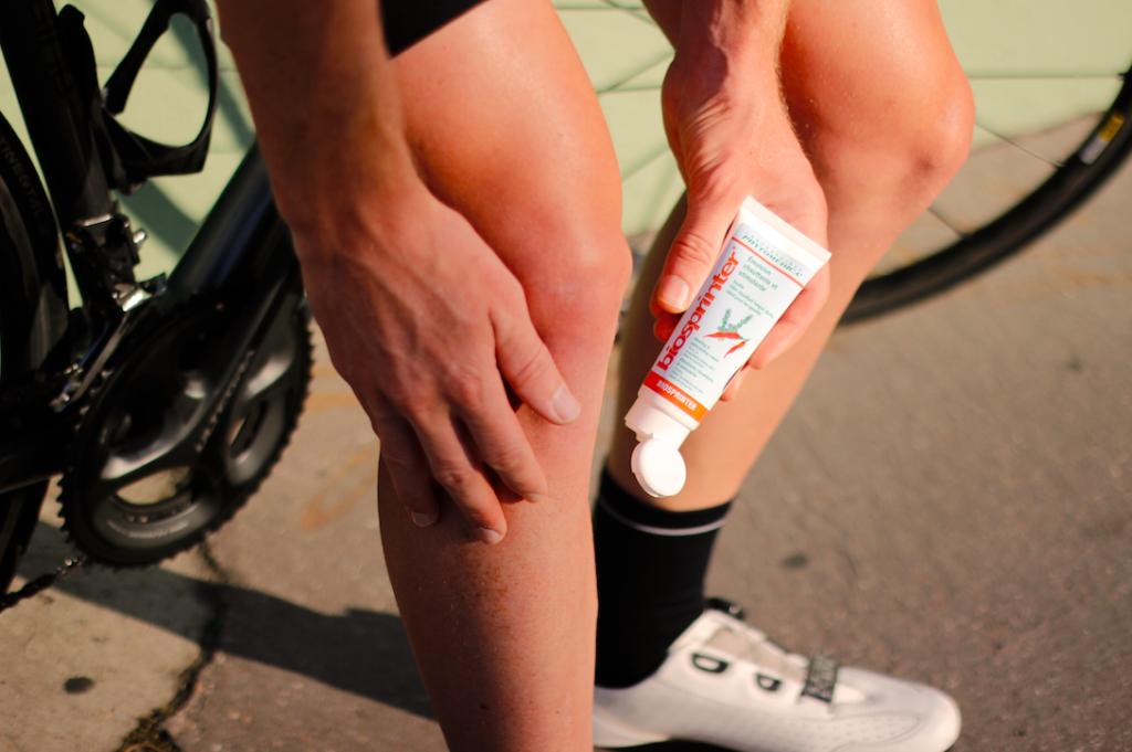 gel chauffant pour cyclisme