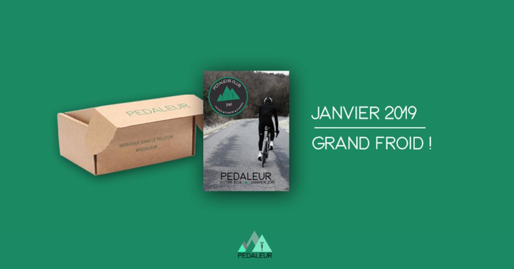 box janvier Pédaleur Grand Froid