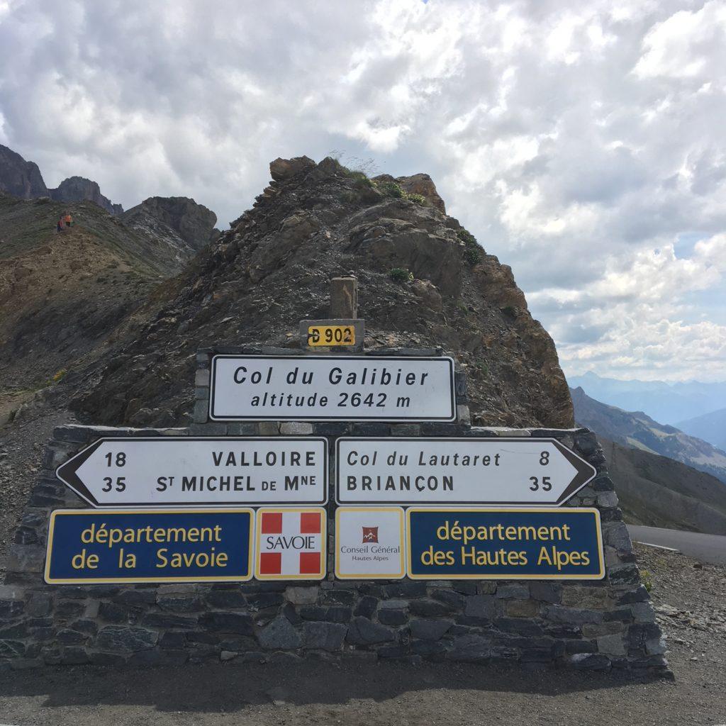 Sommet Col du Galibier