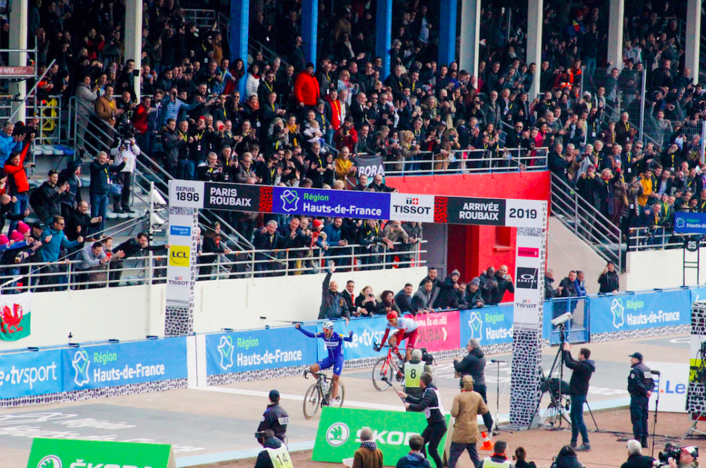 Victoire Gilbert Paris-Roubaix