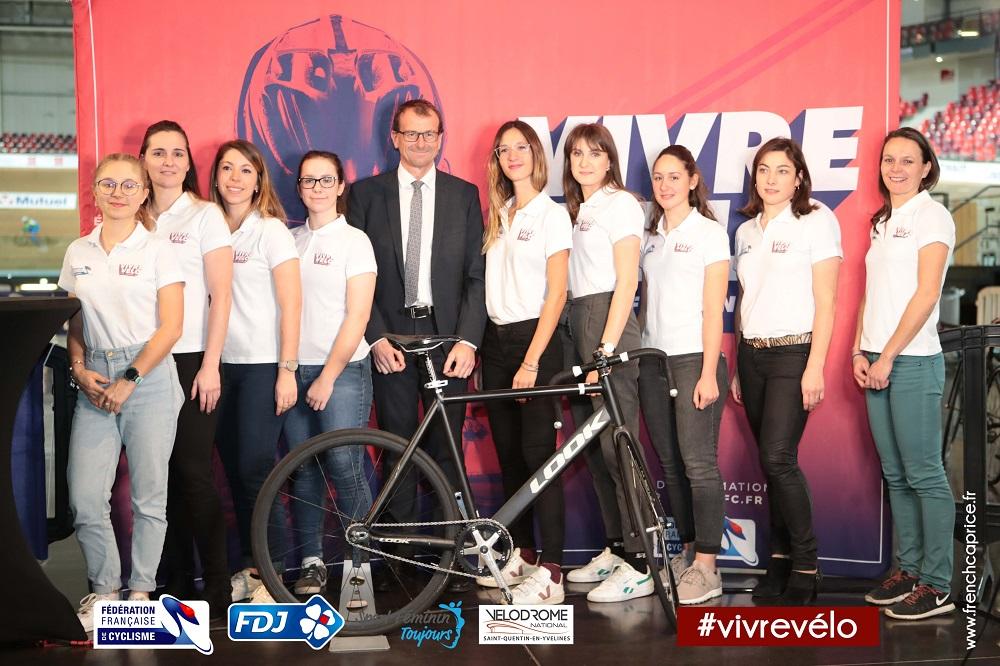 Team d'ambassadrices Fédération Française de Cyclisme