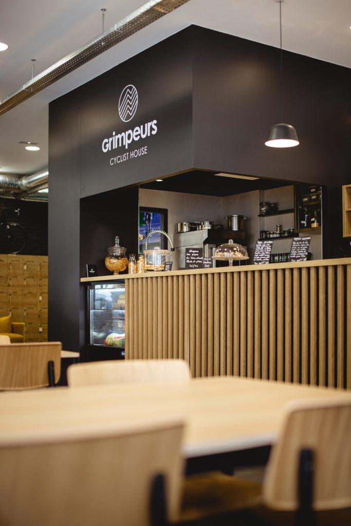 Grimpeur café cycliste à Lyon