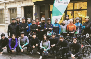 Christmas ride pedaleur lyon 2019