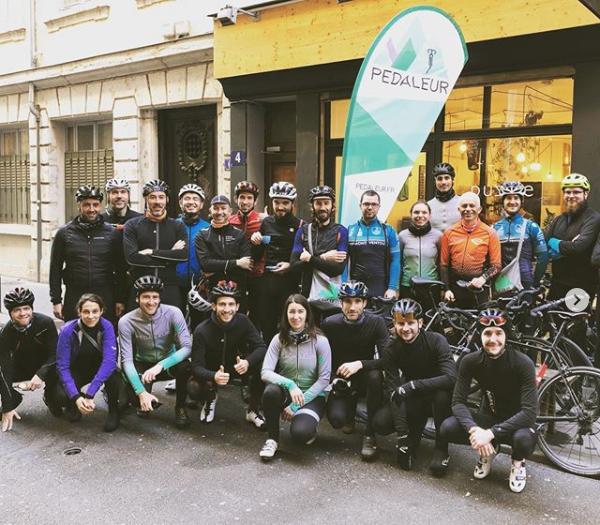 Christmas ride pedaleur lyon 2019