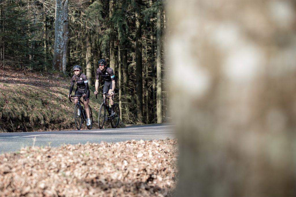 Sortie vélo dans les Monts du Lyonnais