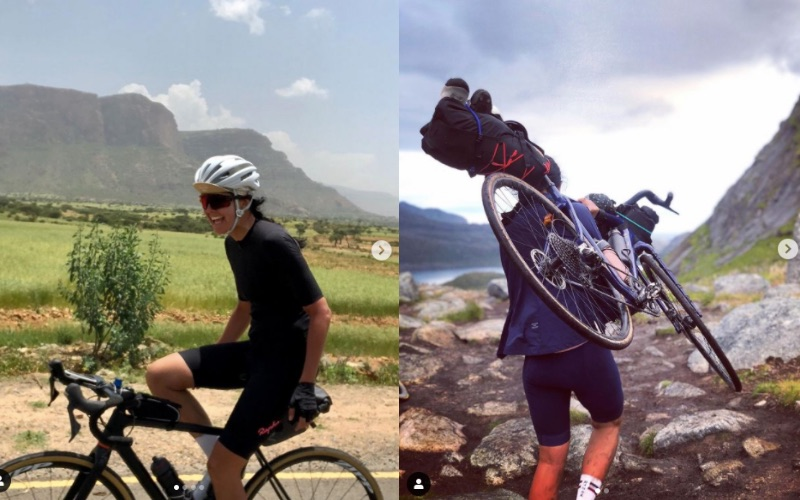 Partir à l'aventure à vélo