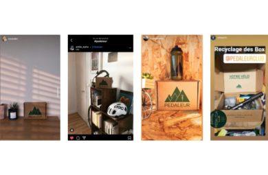 nos abonnés recyclent leur box Pédaleur
