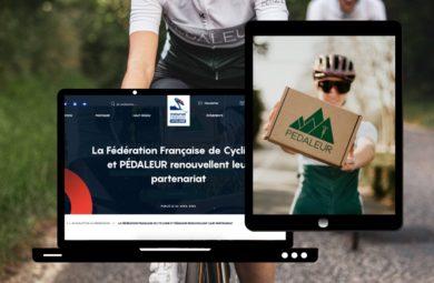 Partenariat cycliste entre Pédaleur et la FFC
