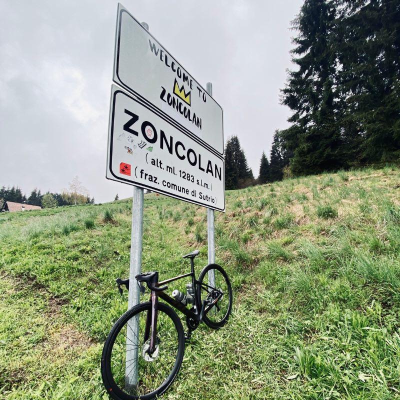 Zoncolan, col mythique des Dolomites