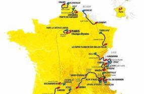 Parcours du Tour de France 2022